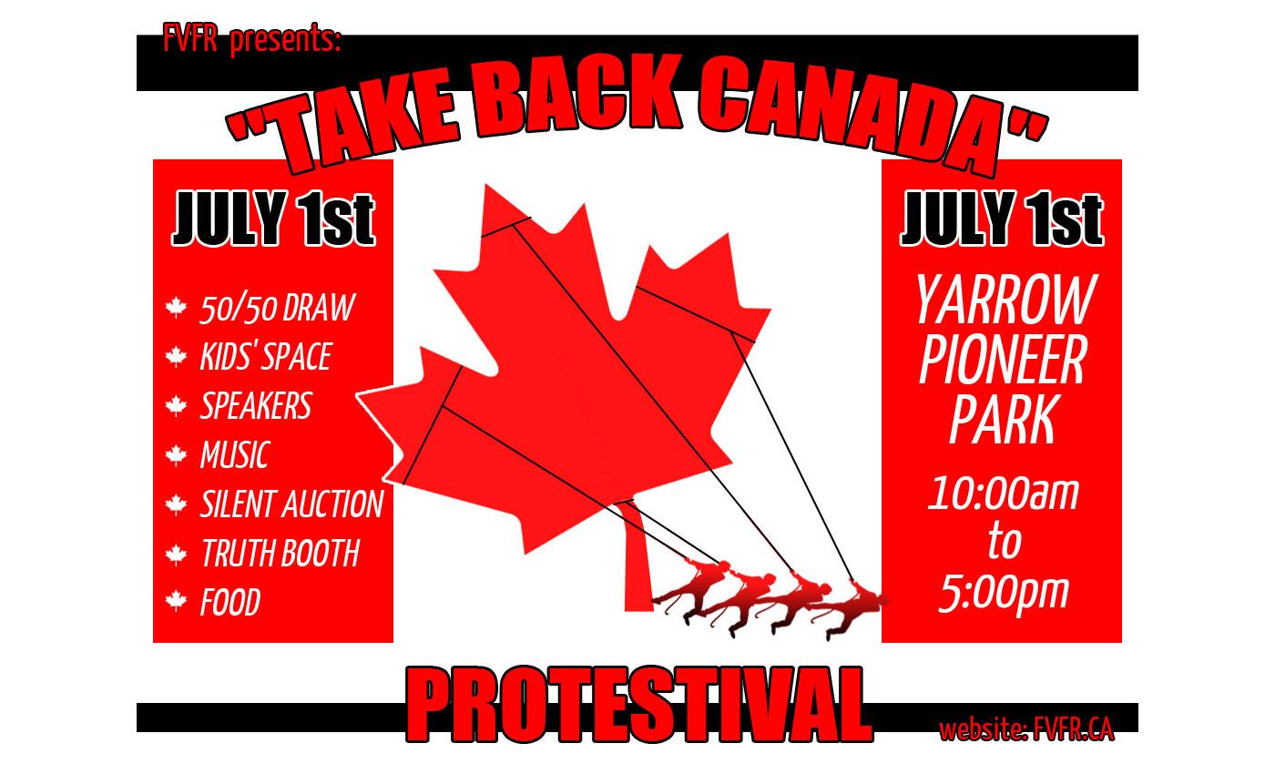 Take Back Canada July 1, 2021